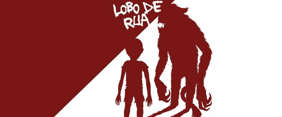 "Capa do livro ""Lobo de Rua"", escrito por Janayna Pin."