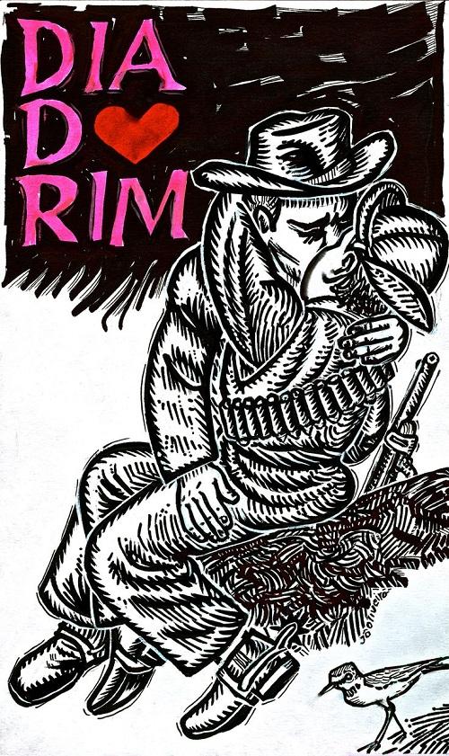 """Imagem ilustrada de Diadorim, personagem de """"O Grande Sertão Veredas'."""