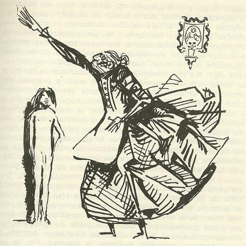 Ilustração de Úrsula Iguarán, de 'Cem Anos de Solidão'.